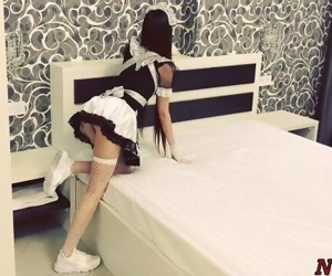Hot French Maid Gets Roughly..