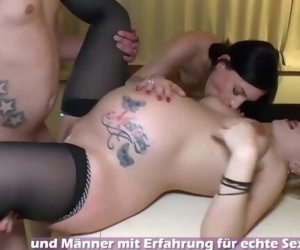 Pregnant german mom make..