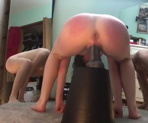 5 Minute Squat Fuck Challenge